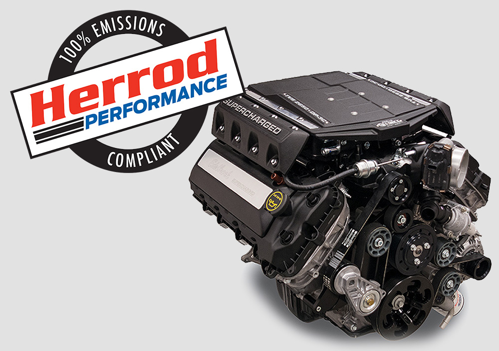 Emissions Compliant Edelbrock Supercharger Package